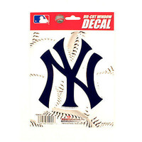 "MLB New York Yankees Vinyl Car Auto Truck Window Decal Sticker 5.75"" x 7.75"" New"