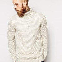 River Island Knitted Roll Neck Sweater
