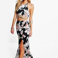Savannah Floral Strappy Maxi Dress