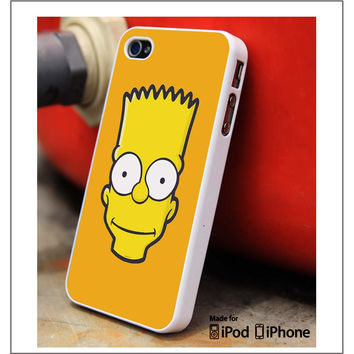 Bart Simpson Face iPhone 4s iPhone 5 iPhone 5s iPhone 6 case, Galaxy S3 Galaxy S4 Galaxy S5 Note 3 Note 4 case, iPod 4 5 Case