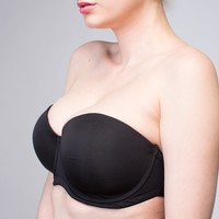 Interchangeable Angelina Contour Cup Manhattan Black | The Bra Lab