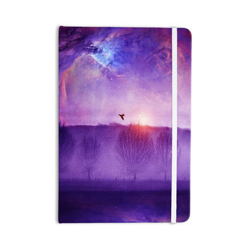 "Viviana Gonzalez ""Orion Nebula"" Purple Blue Everything Notebook"