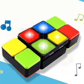 Magic Cube Puzzle with Electronic Music For children