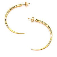 Vita Fede - Eclipse Crystal Arc Earrings - Saks Fifth Avenue Mobile