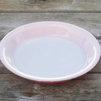 Vintage Pyrex Pink Flamingo Pie Plate 9 inch Baking Pie Dish & Shop Pyrex Plates on Wanelo