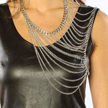 Various Styles of Shoulder Body Chains