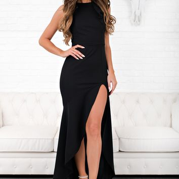 An Evening With You Dress (Black)