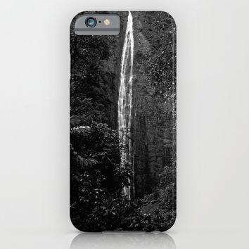 Waimoku Falls  iPhone & iPod Case by Derek Delacroix