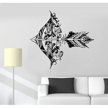 Vinyl Wall Decal Arrow Bow Shooting Range Art Decor Stickers Unique Gift (844ig)