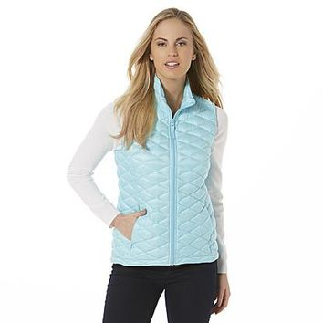 Attention Women's Packable Puffer Vest & Storage Bag