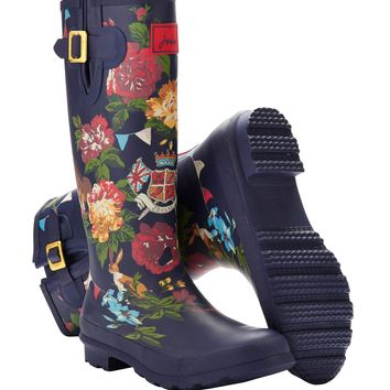 Jubilee Wellyprint Womens Print Rain Boot Wellies | Joules US