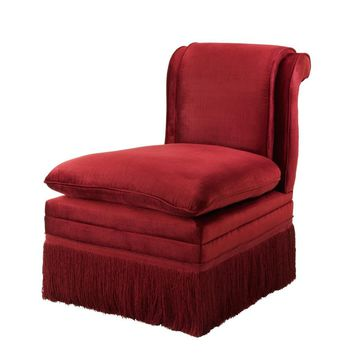 Red Lounge Chair | Eichholtz Boucheron