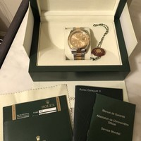 Rolex Datejust II 18k Yellow Gold/Steel Champagne Dial Watch Box/Papers 116333