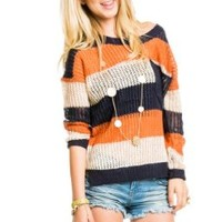 Timing Women's Big Pocket Knit Sweater