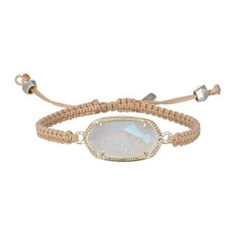 Essie Woven Bracelet in Iridescent Drusy - Kendra Scott Jewelry