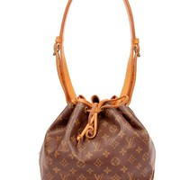 Louis Vuitton Petit Noe Tote 5642 (Authentic Pre-owned)