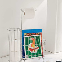 Kiel Toilet Paper Holder + Magazine Caddy - Urban Outfitters