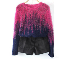 High Fashion Mix-color Sweater
