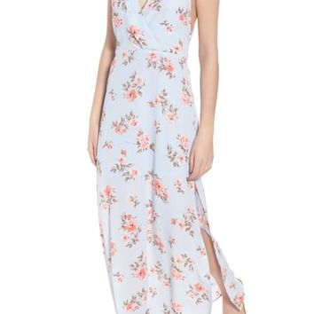 Surplice Maxi Dress | Nordstrom