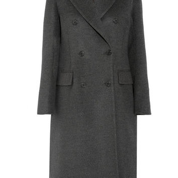 Prada - Double-breasted wool-blend coat