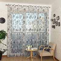 Sheer Curtains Window Treatments - Dolce Mela DMC477