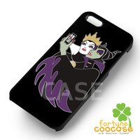 Disney Maleficent and Evil Queen Villains Taking Picture -eedh for iPhone 4/4S/5/5S/5C/6/6+,samsung S3/S4/S5/S6 Regular/S6 Edge,samsung note 3/4