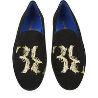 Billionaire Plume Suede Slipper Shoe