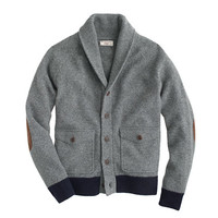 J.Crew Mens Wallace & Barnes Boiled Wool Sweater-Jacket
