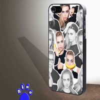 Cara Delevingne Model Cute Funny for iphone 4/4s/5/5s/5c/6/6+, Samsung S3/S4/S5/S6, iPad 2/3/4/Air/Mini, iPod 4/5, Samsung Note 3/4 Case *NP*