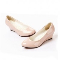 Hot Sales Classic Candy Color Wedges Shoes For Women China Wholesale - Sammydress.com