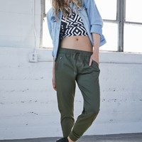 Bullhead Denim Co. Front Moto Zip Jogger Pants - Womens Pants