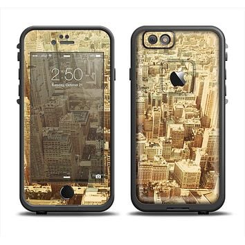 The Vintage Photo of the City Skin Set for the Apple iPhone 6 LifeProof Fre Case