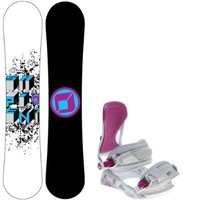 Sapient Destiny 147 Womens Snowboard + Avalanche Serenity Bindings - Fits Boot Sizes: 6,7,8,9,10
