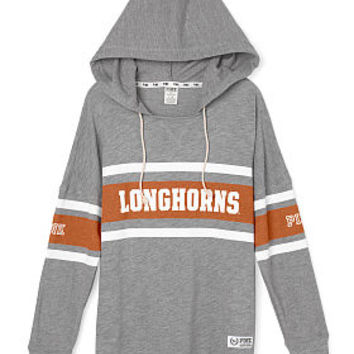 University of Texas Varsity Pullover Hoodie - PINK - Victoria's Secret