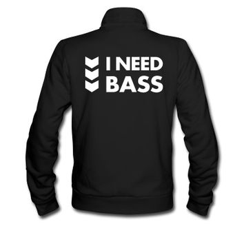 I NEED BASS Track Jacket
