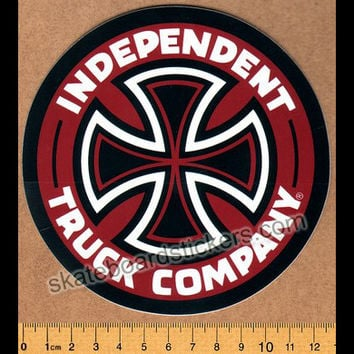 Independent Truck Company Skateboard Sticker - Red