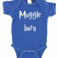 MUGGLE BORN BABY ONE PIECE HARRY POTTER CREEPER ROMPER
