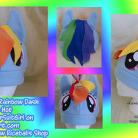 My Little Pony Rainbow Dash Hat