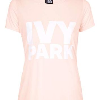 Logo Crew Neck Tee by Ivy Park - Ivy Park - Clothing