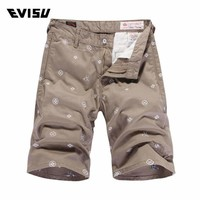 Mens Cotton Button Shorts