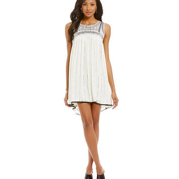 Freeway Embellished Dress | Dillards