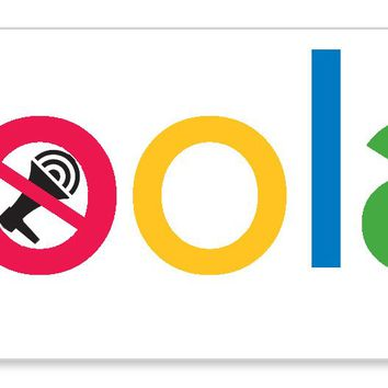 "Goolag Censorship Free Speech Google Ban Hate Diversity speech sticker decal (9""x3"")"