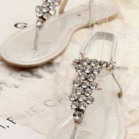 European Style Bling Rhinestone Sandals
