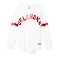 University of Oklahoma Limited Edition Varsity Crew - PINK - Victoria's Secret