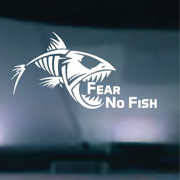 Fear No Fish Vinyl Graphic Decal