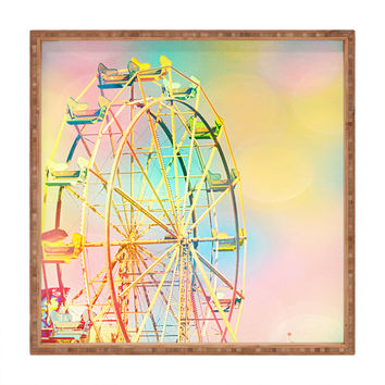 Shannon Clark Ferris Wheel Fun Square Tray