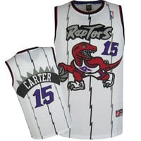 Toronto Raptors Vince Carter #15 Throwback Home Jersey