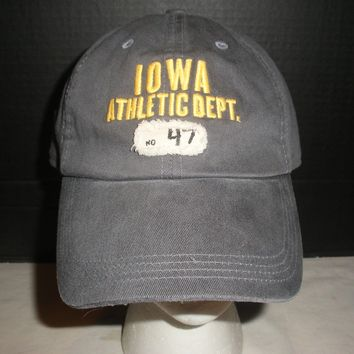 Nike Iowa Hawkeye's Athletic Dept. One Size Hat Cap New with Tags