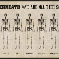 Underneath We Are All The Same - Poster