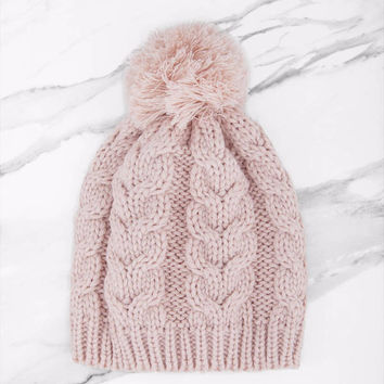 Seasons Changing Pom Pom Beanie